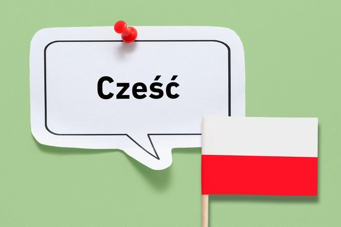 hello czesc polish poland