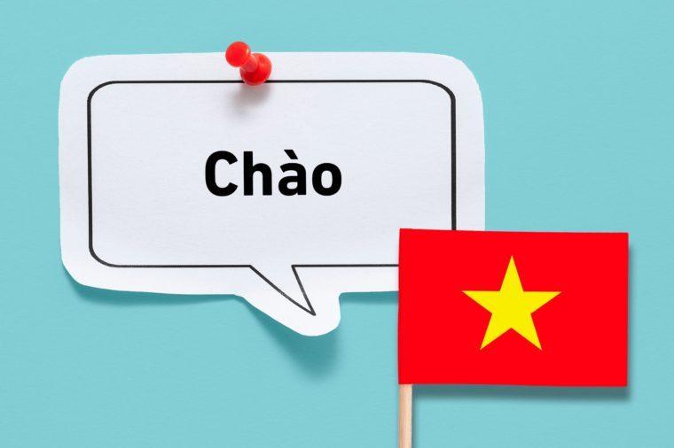hello chao vietnamese vietnam