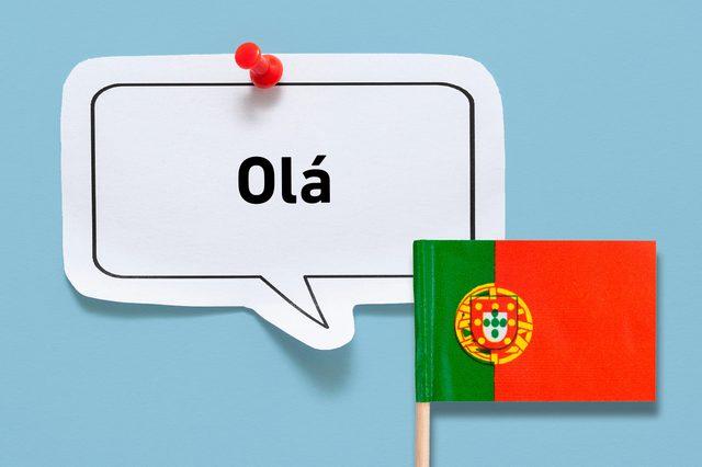 hello ola portuguese portugal