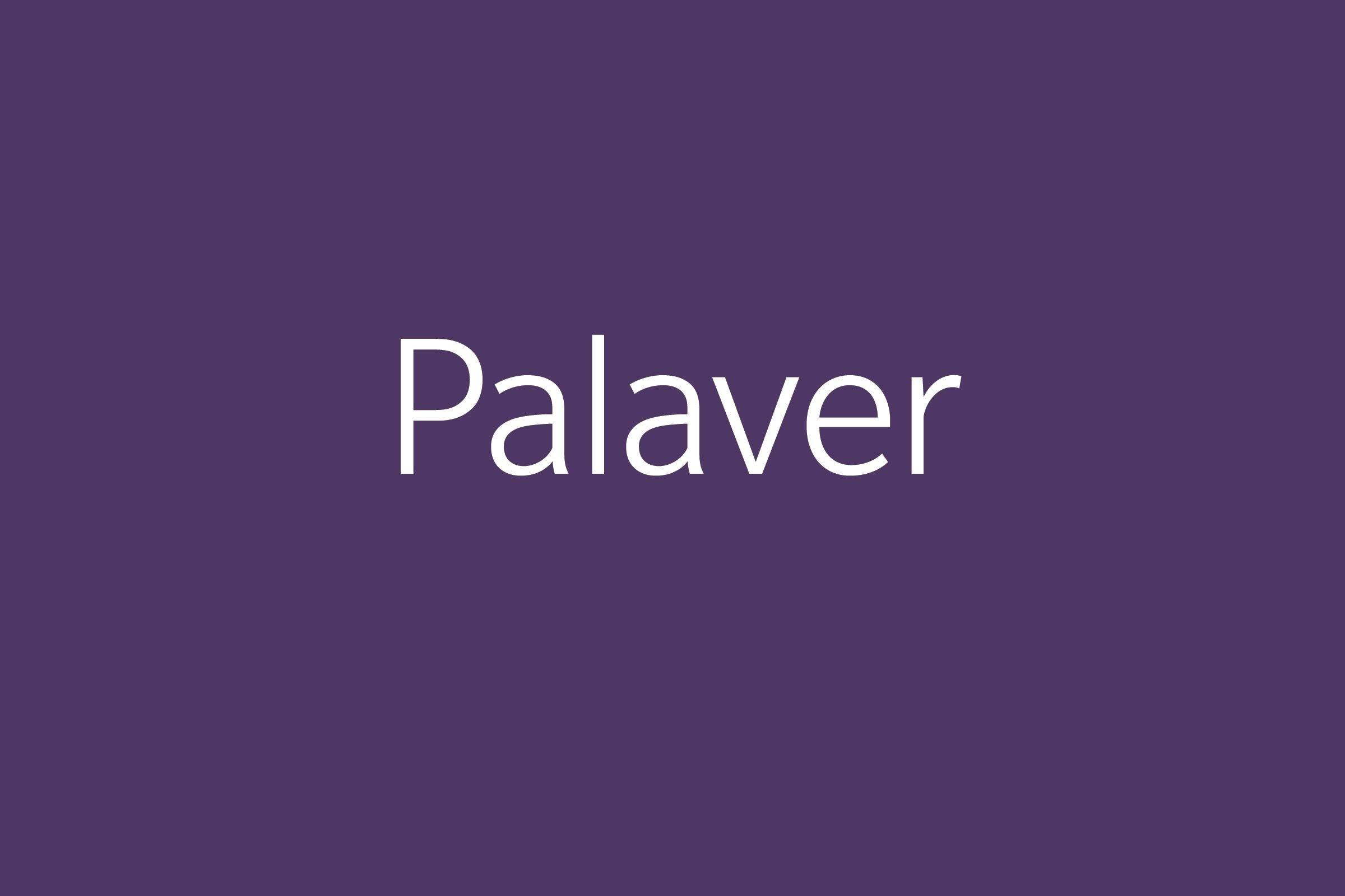 palaver funny word Funny words