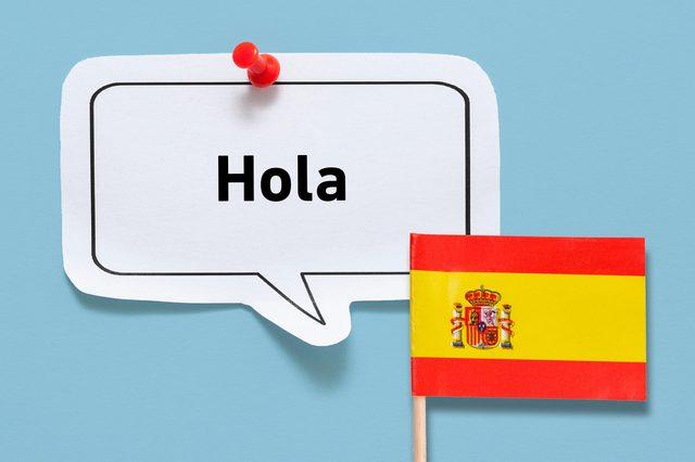 hello hola spanish