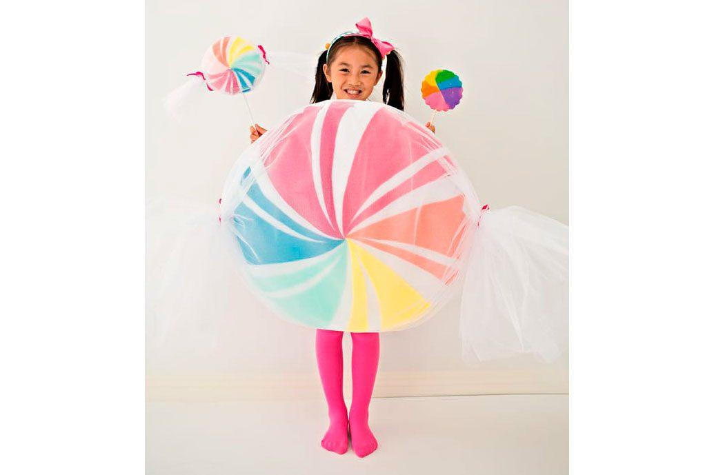 kids diy halloween costume - candy