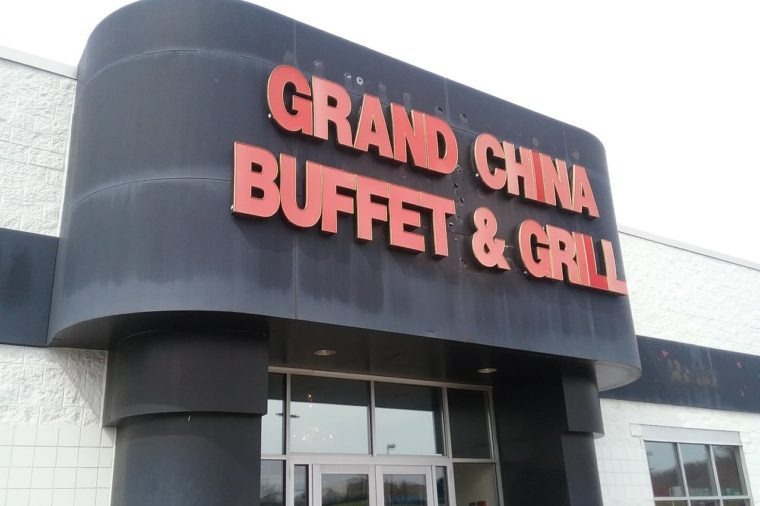 grand china buffet and grill west virginia