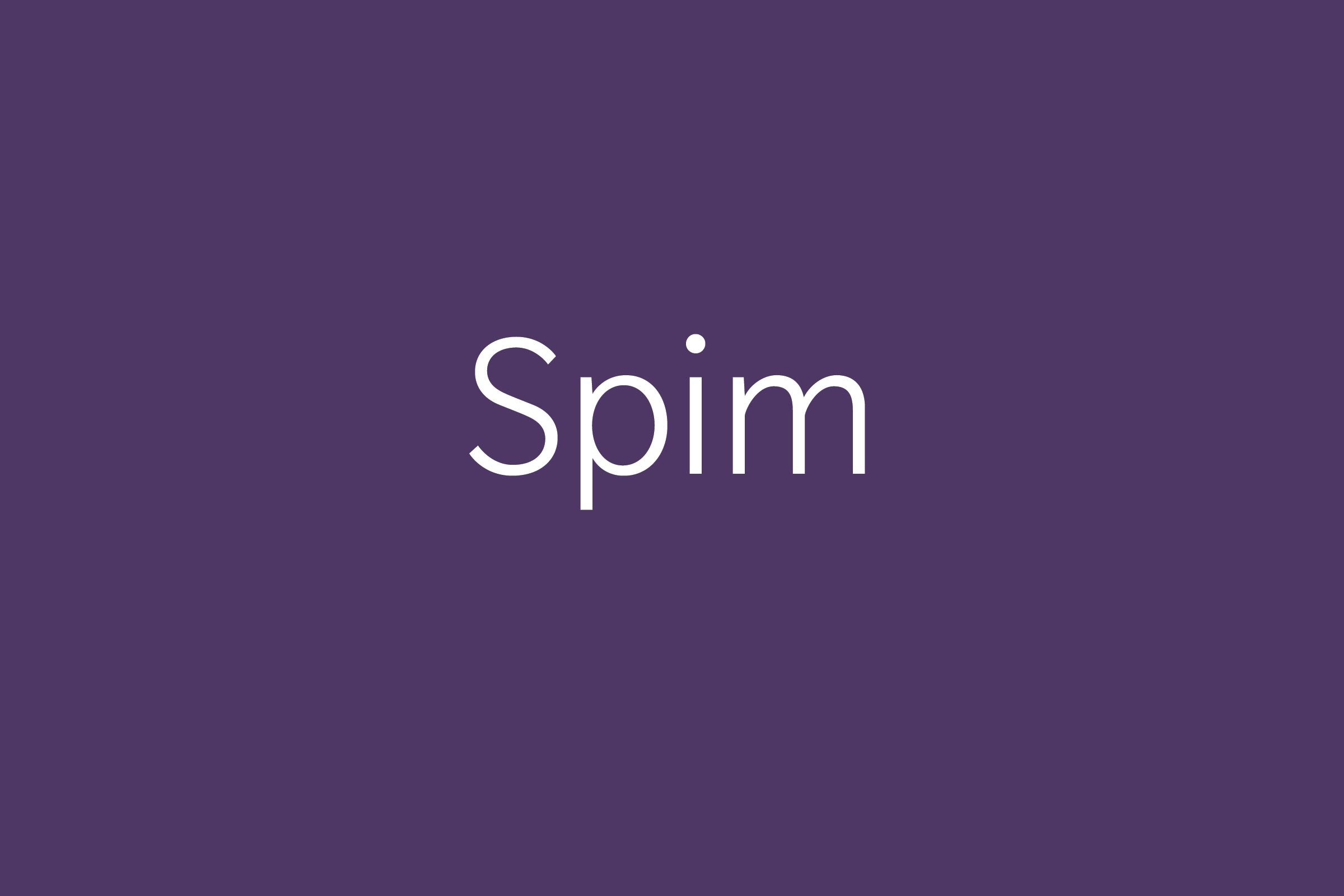 spim Funny words