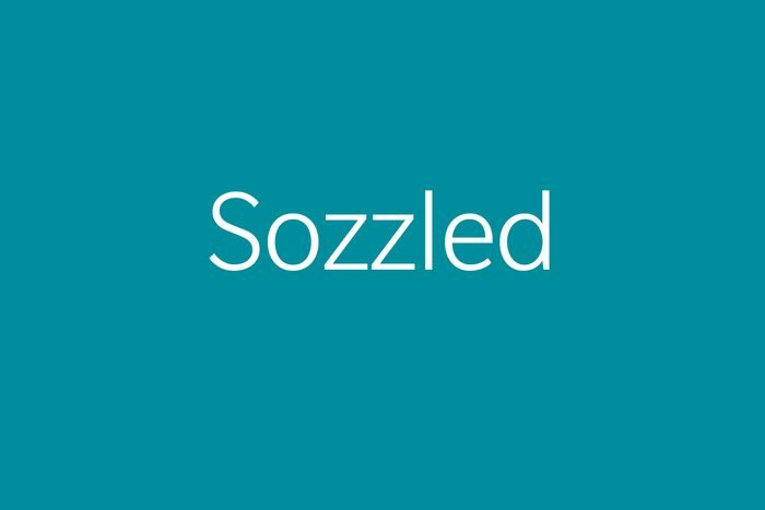 sozzled funny word Funny words