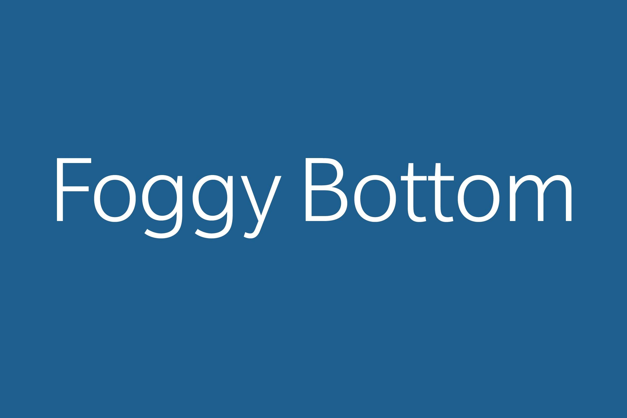 foggy bottom funny word funny words to say