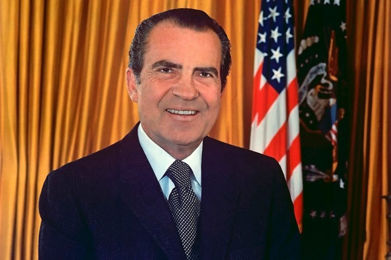 President Richard Nixon 1970. 37th President of the Unites States of America. Library of Congress