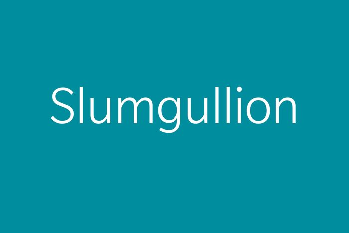slimgullion funny word funny words to say
