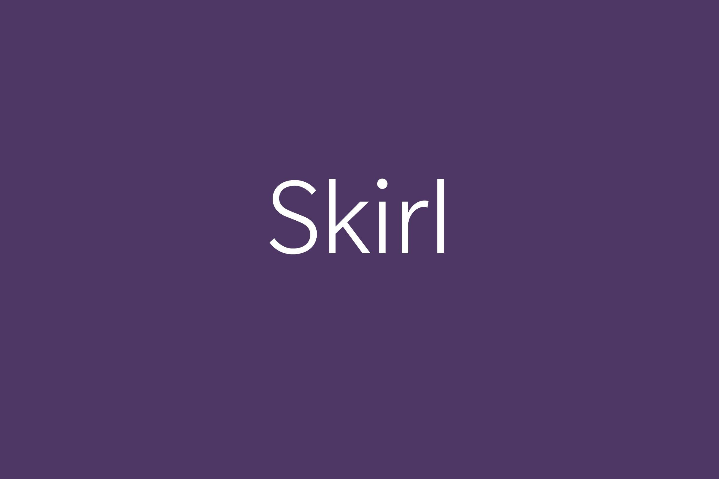 skirl funny word funny words to say