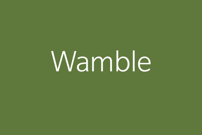 wamble funny word funny words to say