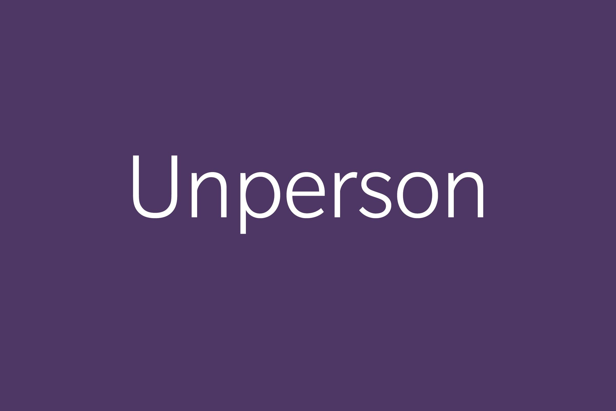 unperson funny word funny words to say