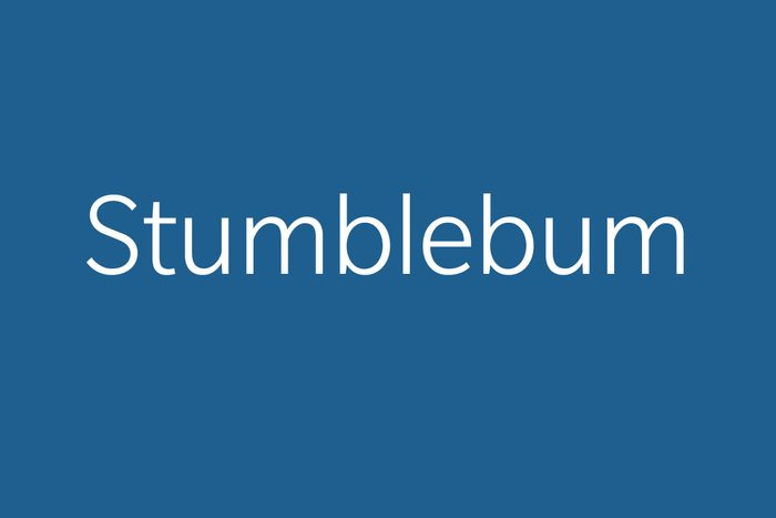 stumblebum funny word funny words to say