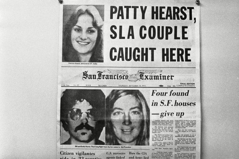 Patty Hearst 1975, San Francisco, USA