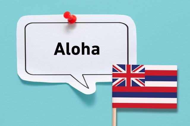 hello aloha hawaii hawaiian