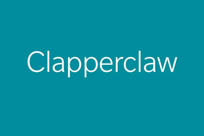 clapperclaw funny word funny words to say