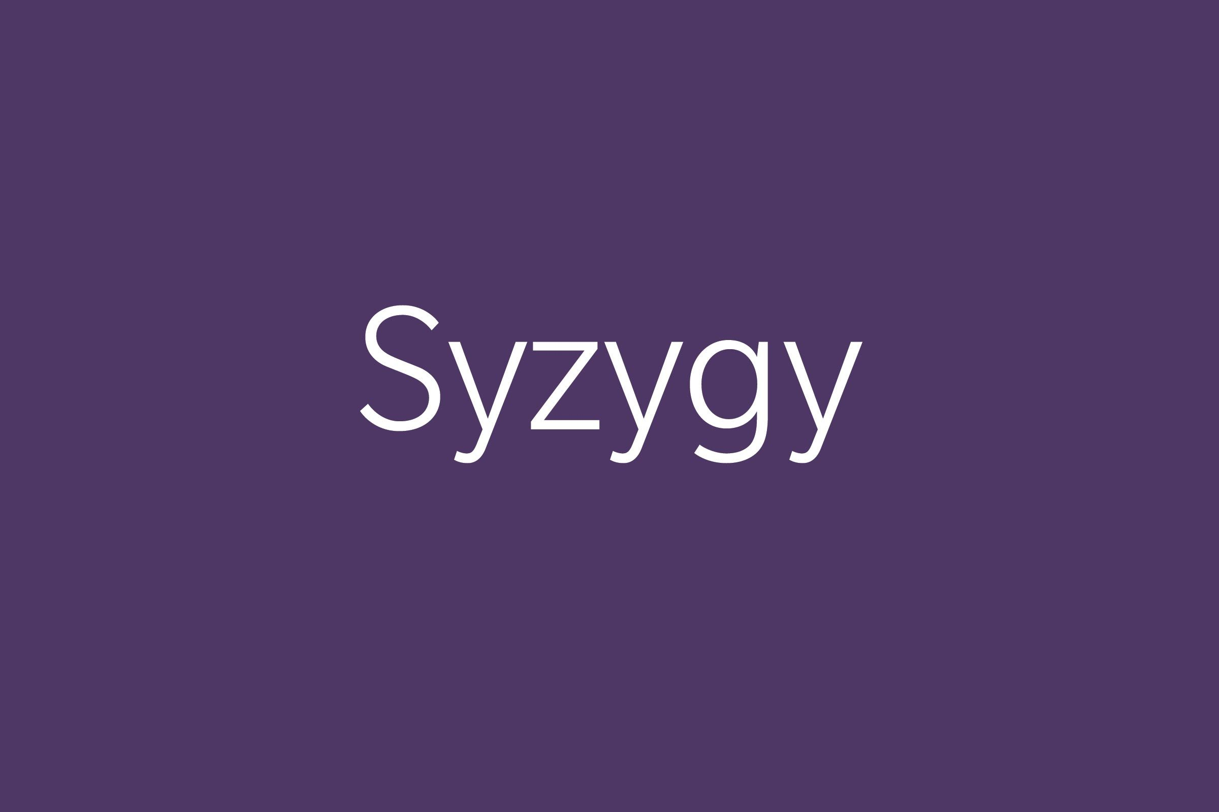 syzgy funny word funny words to say