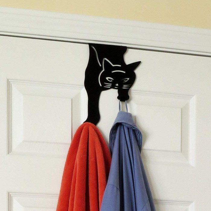 cat towel hook
