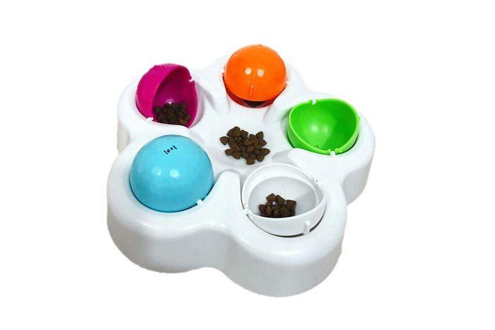easter egg educational dog toy