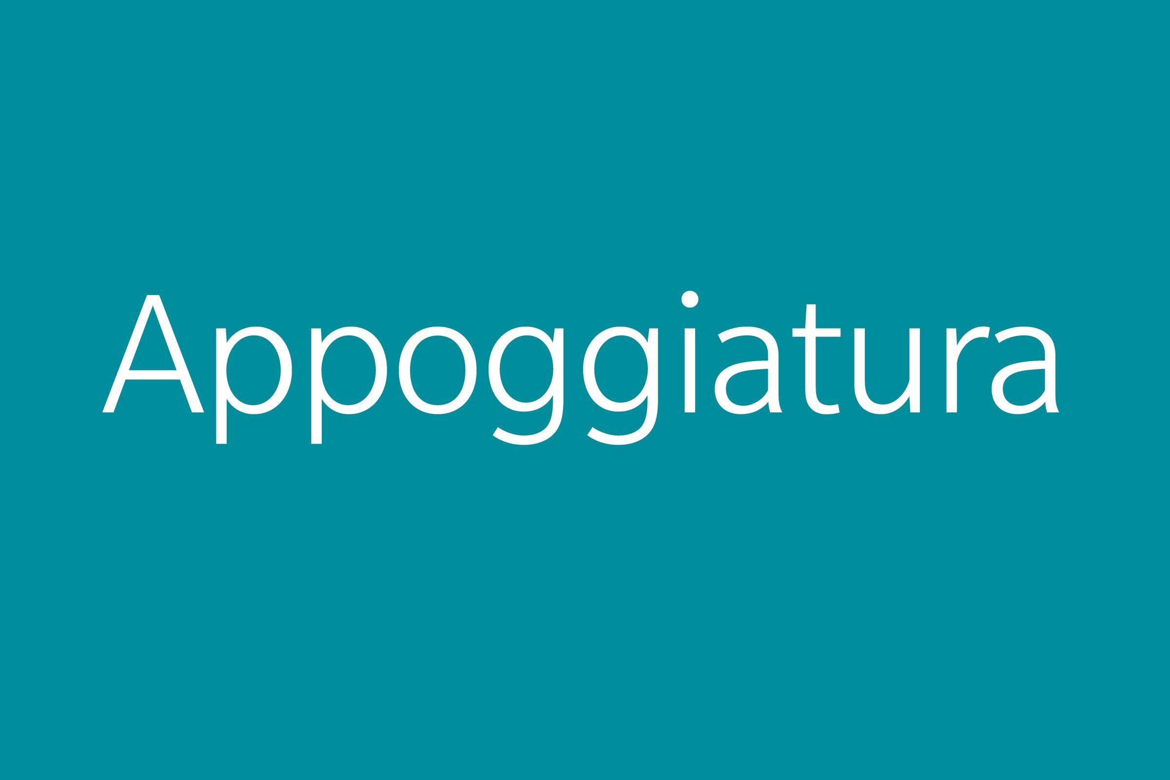 appoggiatura funny word funny words to say