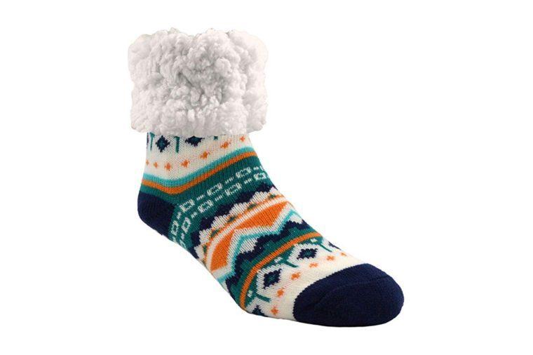 pudus warm fuzzy socks