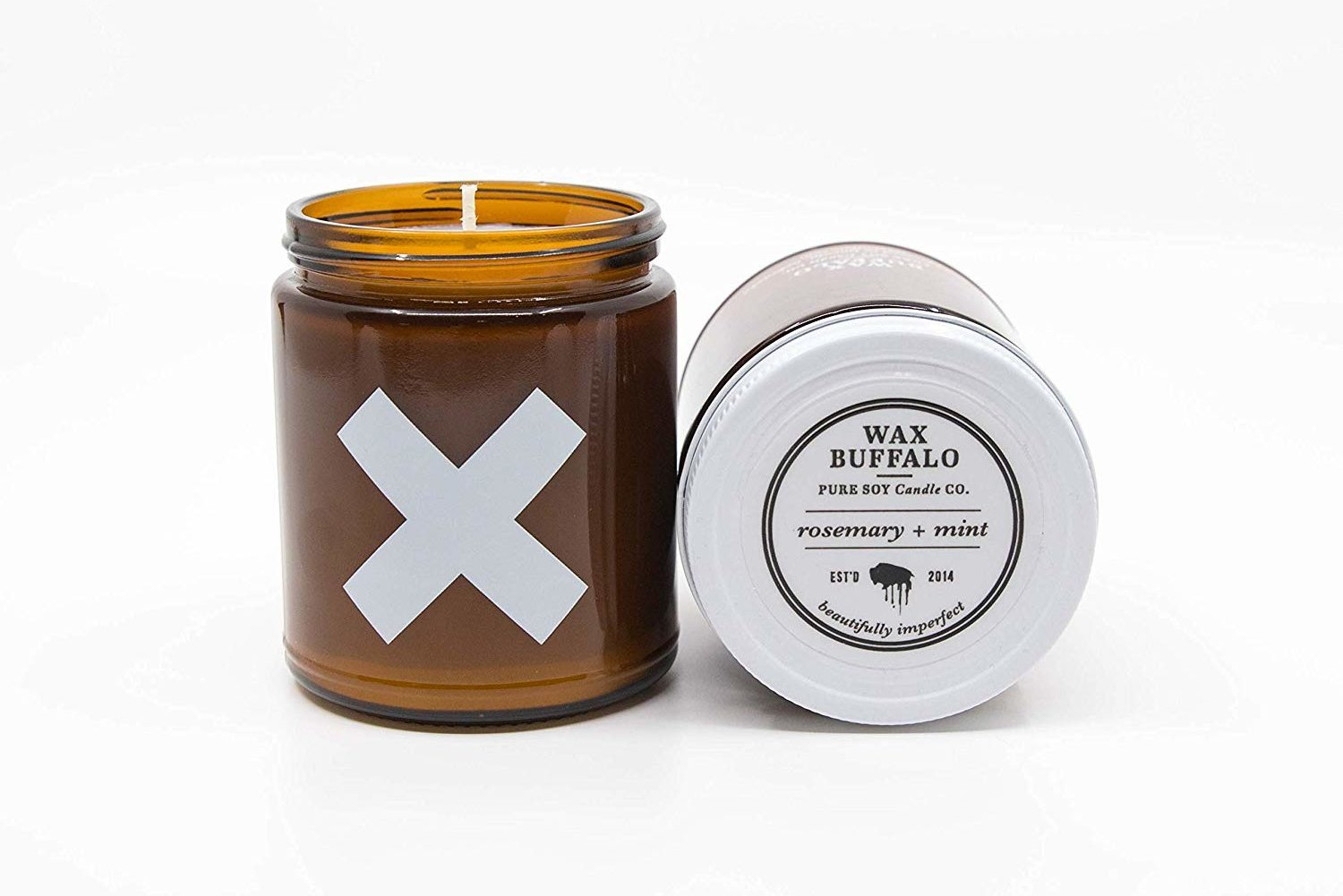 wax buffalo handmade pure soy candle