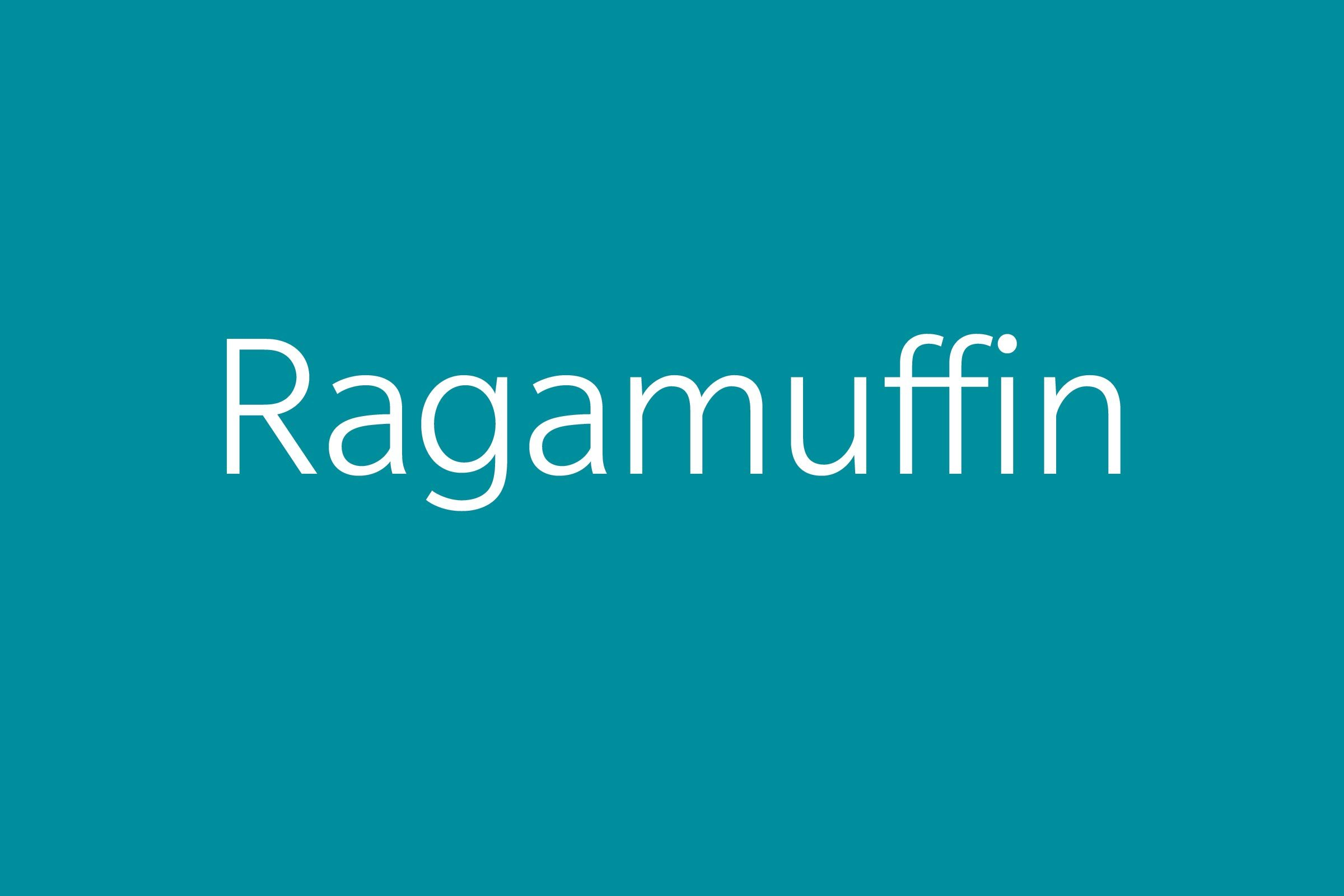 ragamuffin funny word funny words to say