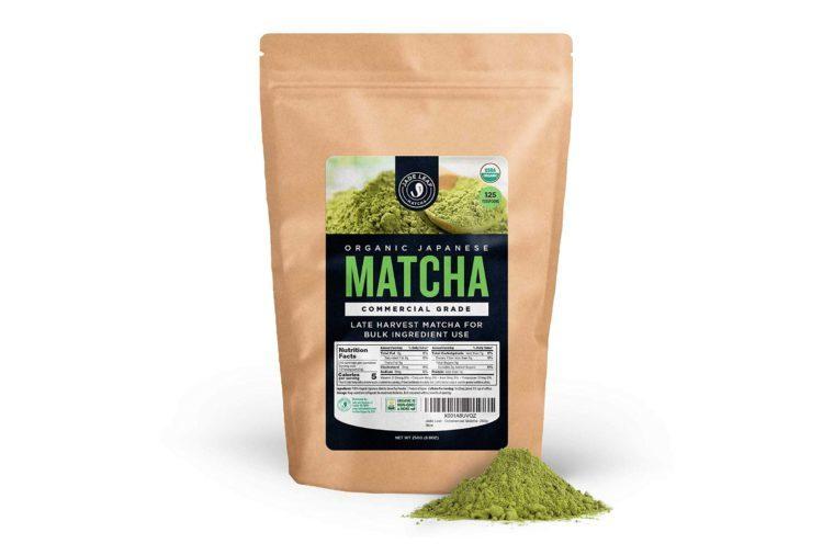 matcha powder jade leaf