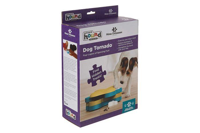 Tornado puzzle toy