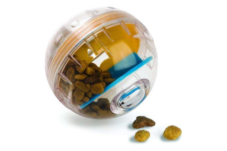 treat dispensing dog toy