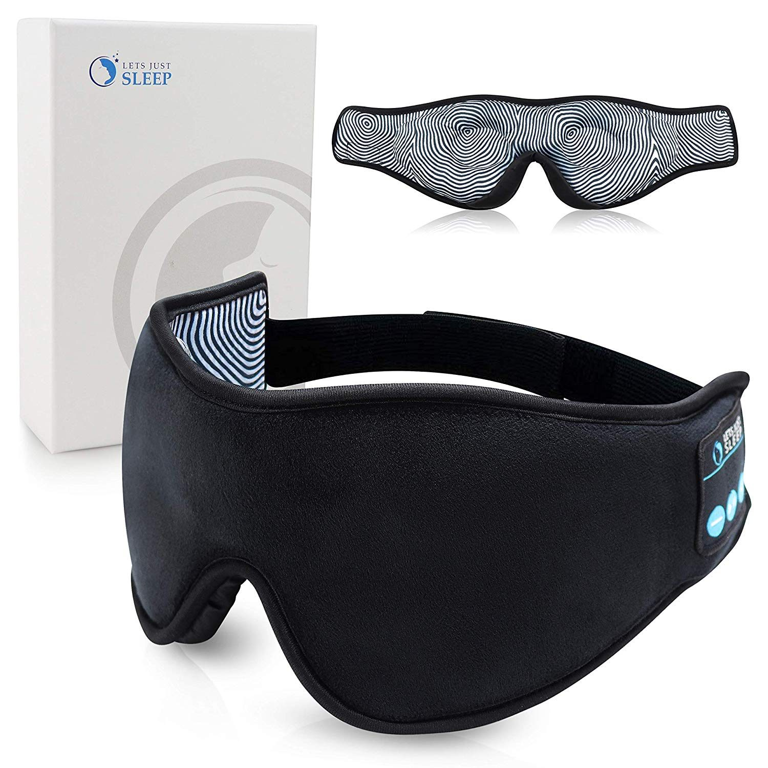 sleep mask and speakers