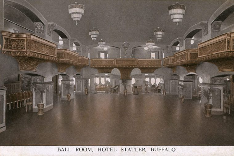 Ballroom, Hotel Statler, Buffalo, New York State, Usa