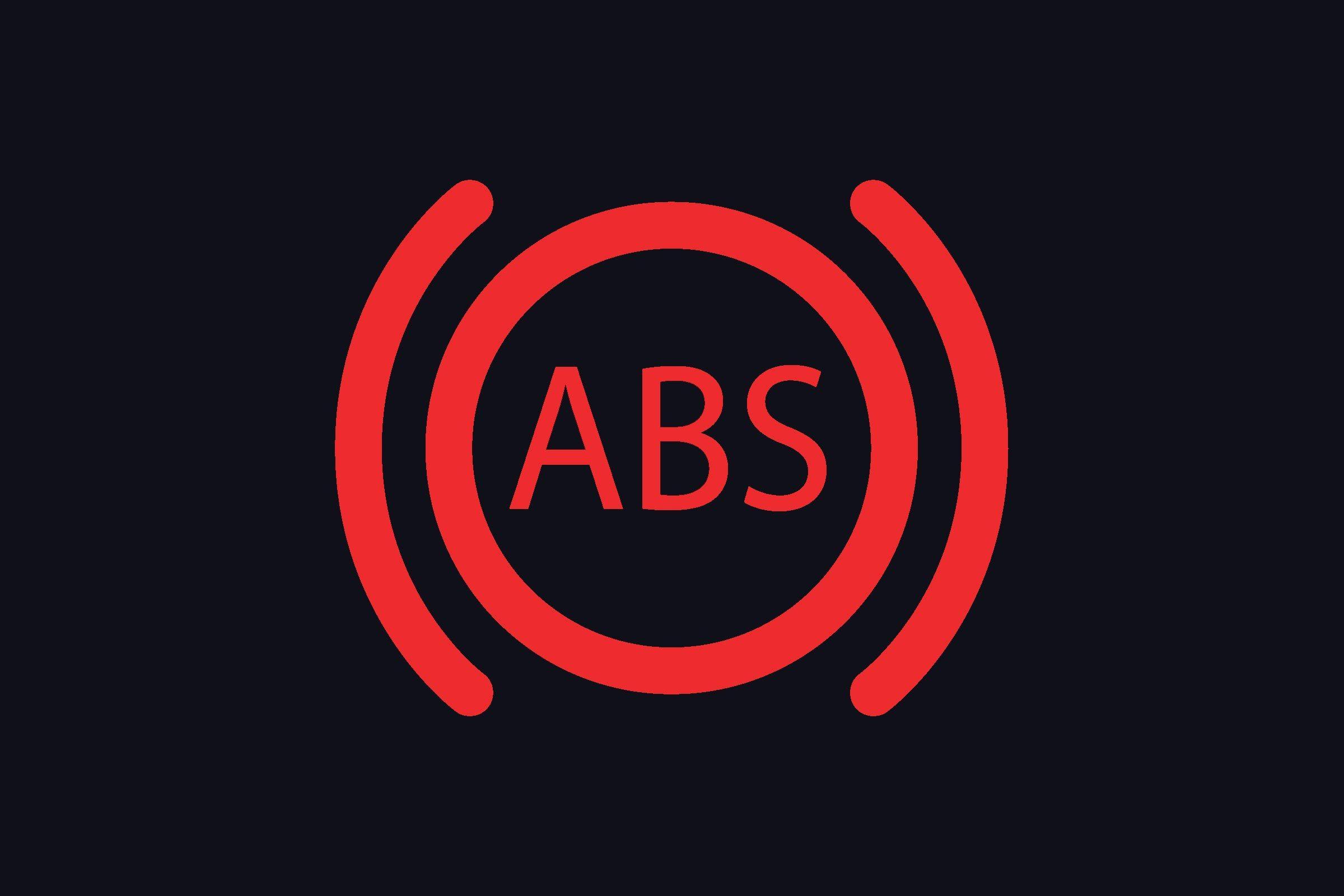 anti lock braking system symbol