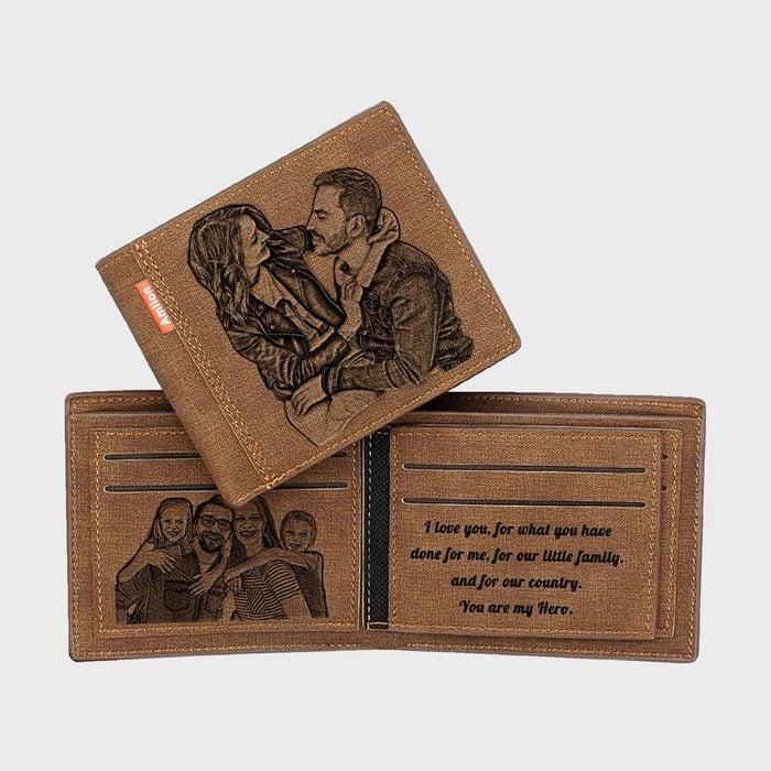 Amlion Custom Engraved Wallet