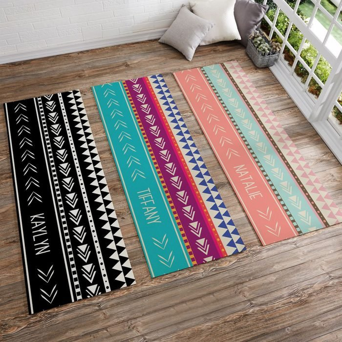 Bohemian Chic Personalized Yoga Mat Via Bedbathandbeyond.com