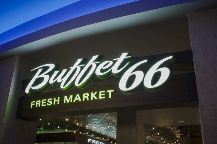New Mexico: Buffet 66 Fresh Market, Rio Puerco