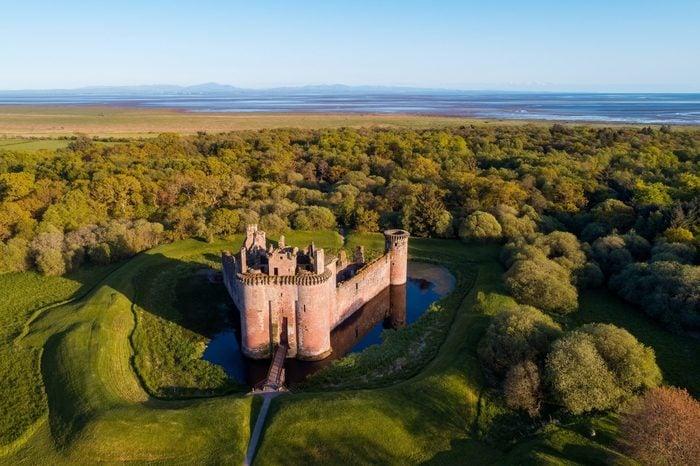 Caerlaverock Castle ruin