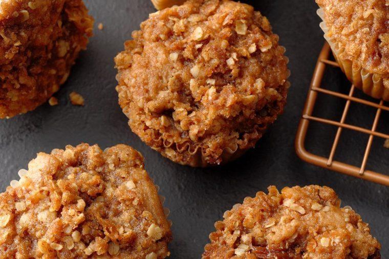 Louisiana: Caramel Apple Muffins