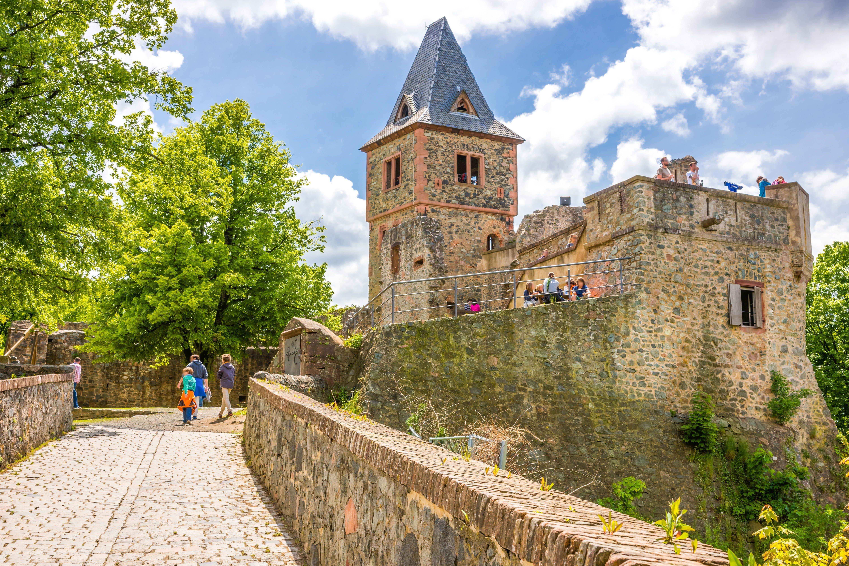 Castle Frankenstein, Darmstadt-Ebertstadt