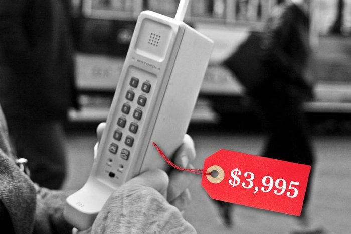 first cellphone price motorola