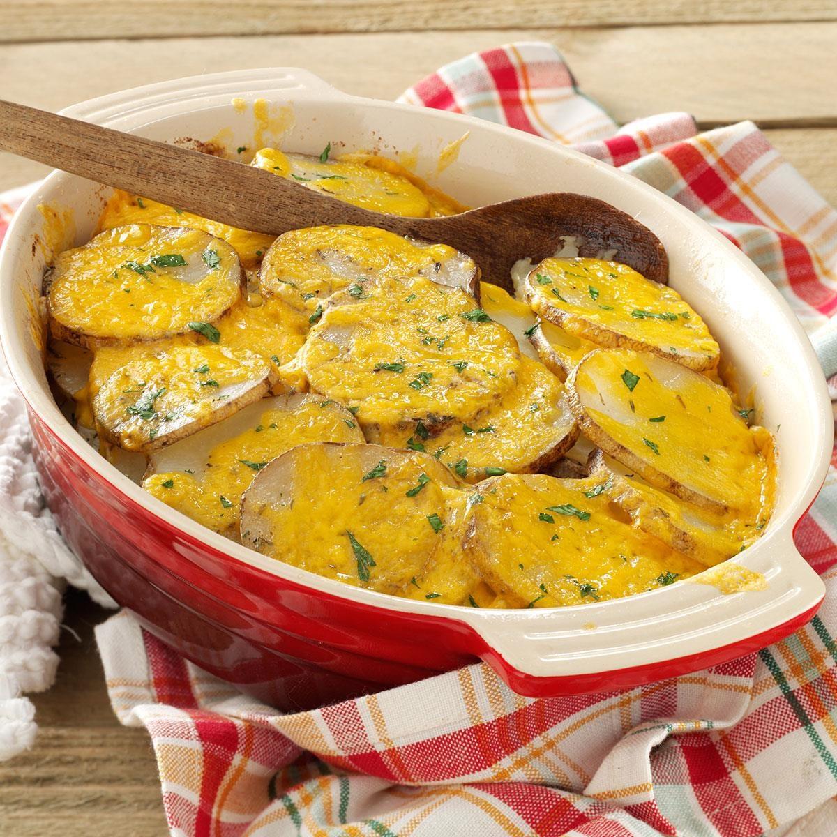 Kansas: Cheesy Potato Bake