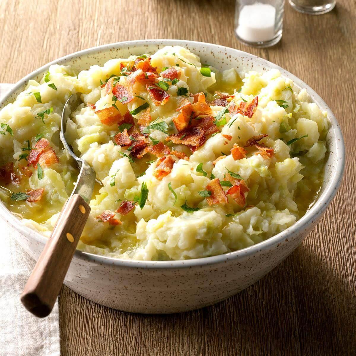 Oregon: Colcannon Potatoes