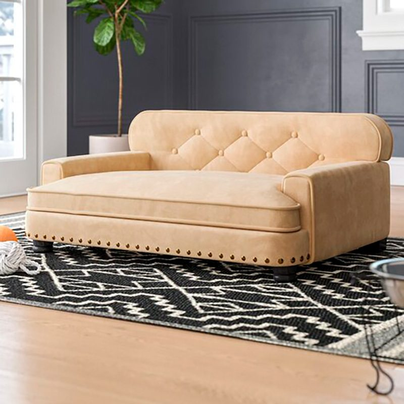 Deal of the Week: Our Favorite Dog Sofa Is Now 50 Percent Off at Wayfair