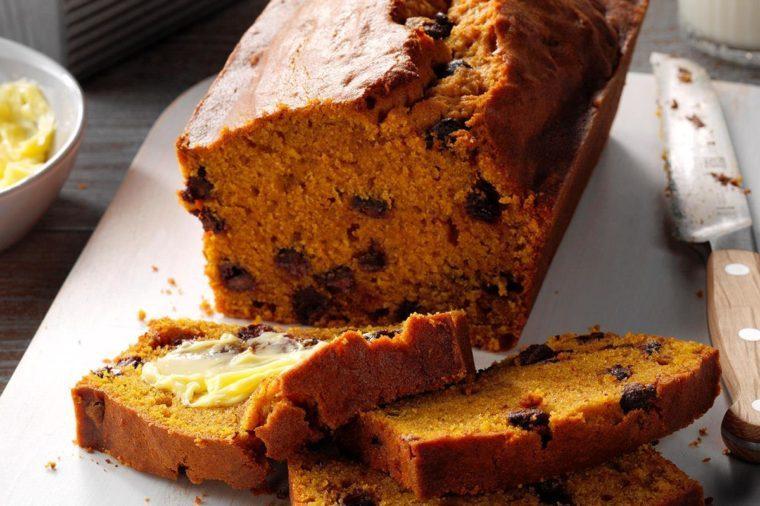 Kansas: Contest-Winning Chocolate Chip Pumpkin Bread