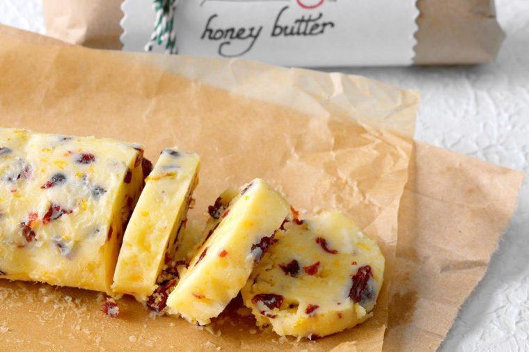 Cranberry Honey Butter