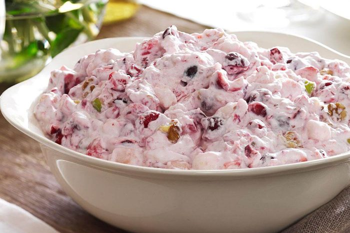 Michigan: Creamy Cranberry Salad
