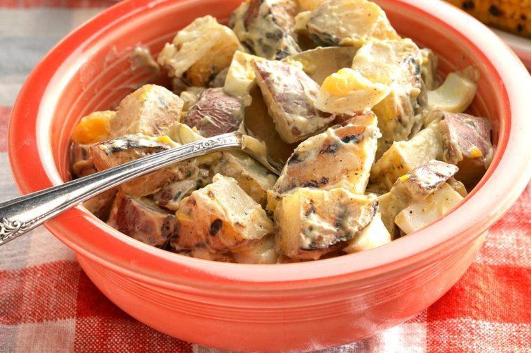 Georgia: Creamy Grilled Potato Salad