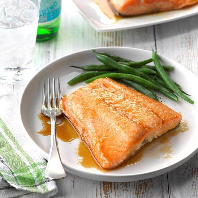 taste of home easy glazed salmon