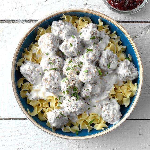 taste of home easy swedish meatballs
