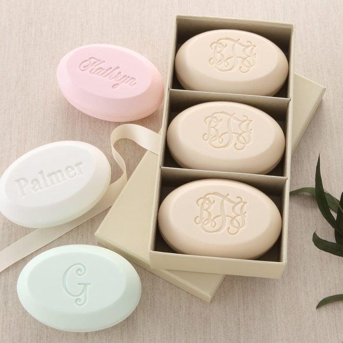 Elegant Name Guest Soap Set