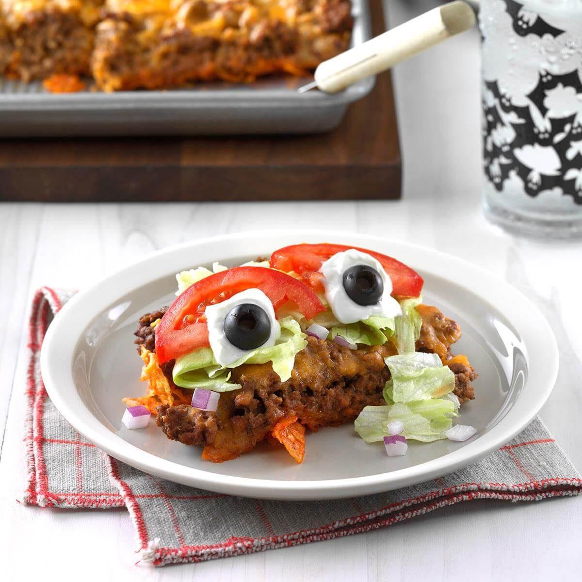 Illinois: Eyeball Taco Salad